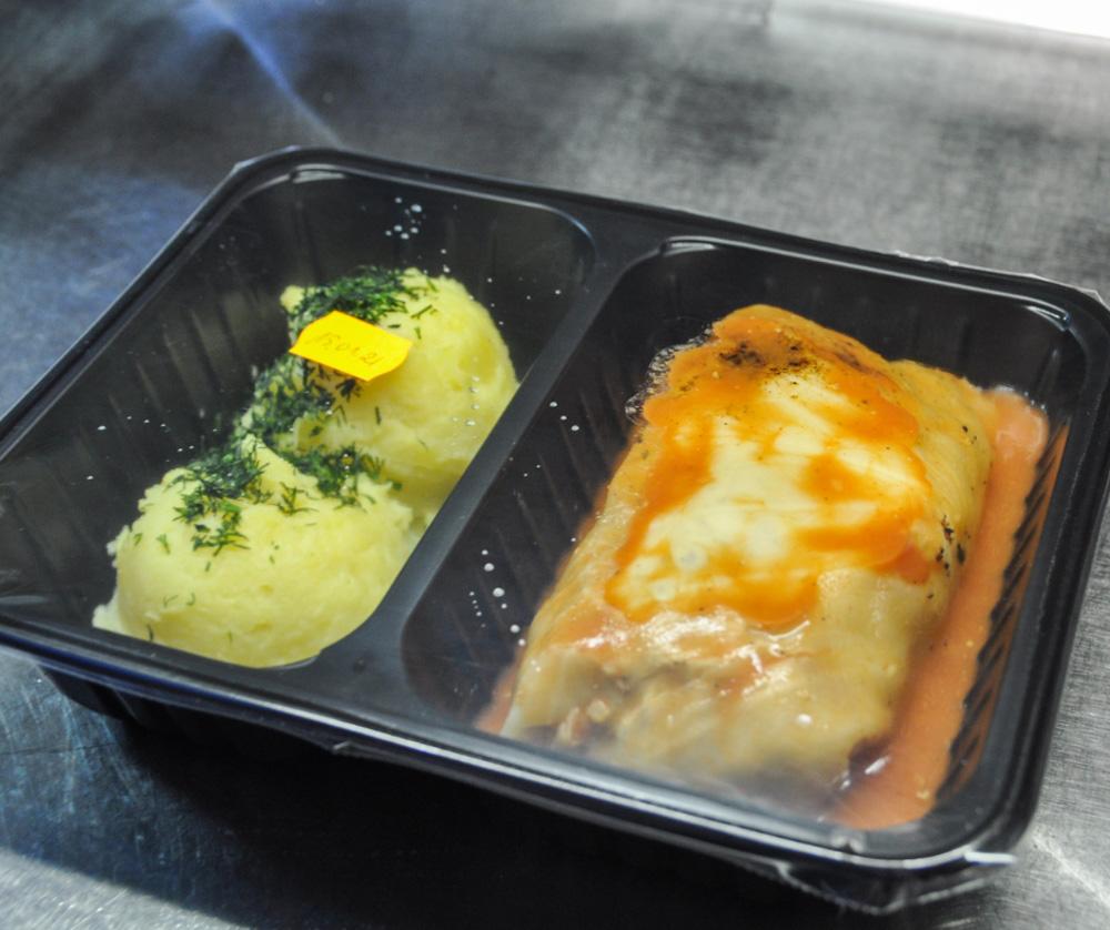 Dwa obiady dla seniorów
