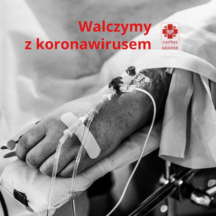 Koronawirus. Zbiórka dla szpitala